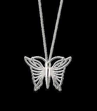 Ashanger, vlinder, zilver